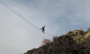 Highline in Hell's Canyon