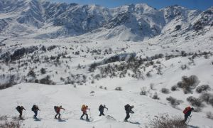 Mount Qarkatar Ski Trail