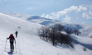 Bujakan Mountains Ski Trail